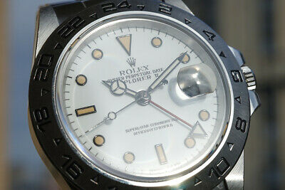 $ CDN19266.25 • Buy Rolex Explorer II 16550 White Dial Stainless Steel Automatic Men's Watch