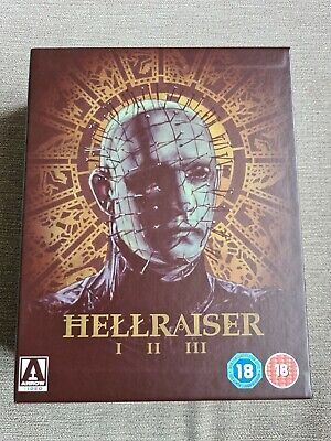 Hellraiser Trilogy 1-3 Special Edition Box Set Blu-ray  • 22.99£
