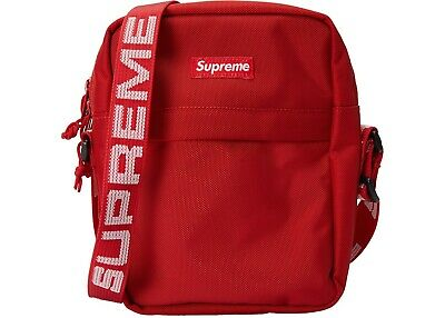 $ CDN104.27 • Buy Supreme SS18 Red Shoulder Bag Cordura Fabric