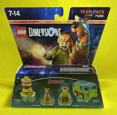 AU90 • Buy LEGO Dimensions Scooby Doo Team Pack 71206