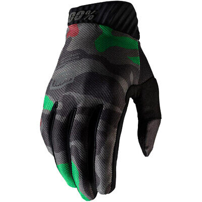 AU42.95 • Buy 100% Percent MX Ridefit Black Camo Motocross Dirt Bike Gloves