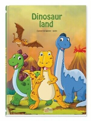 £15.49 • Buy Personalised Dinosaur Land Children's Book - Your Child Becomes The Hero
