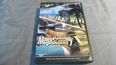 SOUTHERN CALIFORNIA Pc Mega Scenery Add-On Microsoft Flight Simulator X FSX • 14.99£