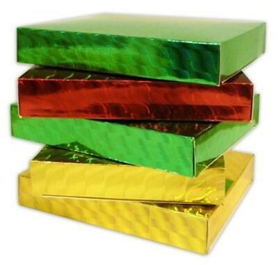 £2.29 • Buy CD & GAME GIFT BOXES HOLOGRAPHIC RED GOLD OR GREEN (FROM UNDER 80p Each)