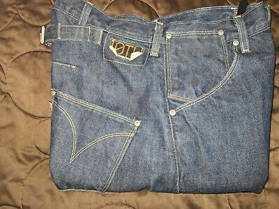 £50 • Buy RARE LEVIS 10th Anniversary Twisted Leg Engineered Jeans 30X30 Cinch Back
