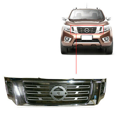 Fit Front Grille Grille Chrome For Fit Nissan Navara NP300 2015 2016 2017 18 On • 84.99£