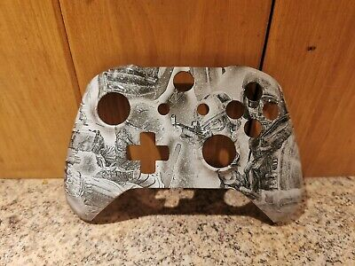 £10 • Buy Xbox One S Soldier Hydro Dipped Faceplate Shell Cod Call Of Duty