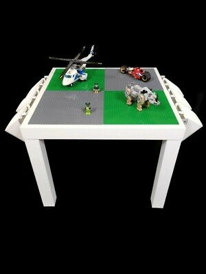 Lego Table Brand New Green And Grey Base Plate Organised Lego Play Set Up • 45£