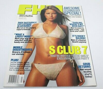 AU29.99 • Buy FHM For Him Magazine July 2001