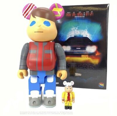 $239.95 • Buy Back To The Future 100% 400% Bearbrick Marty Be@rbrick DCON 2020 BTTF NEW SEALED