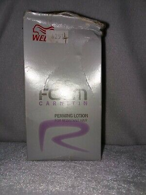 Wella Carnitin Perming Lotion For Resistant Hair • 20£