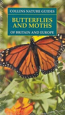 £6.20 • Buy Collins Nature Guides Butterflies & Moths Of Britain & Europe NEW (P/B 2001)