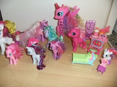 Large Collection Of Pony Horse Toys With Accessories  • 10£