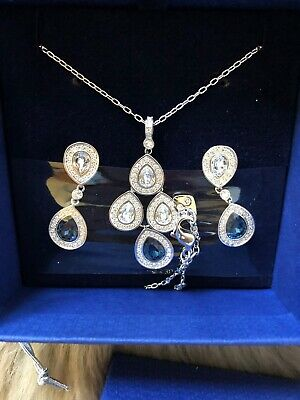 Genuine Swarovski Women's Jewellery Set 1156255-NEW IN BOX • 99.99£