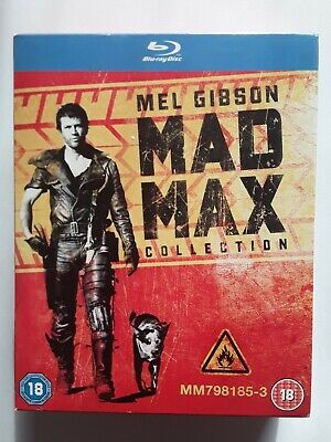Mad Max - Mel Gibson  Trilogy Collection - Blu Ray Boxset - Free Post • 12.49£