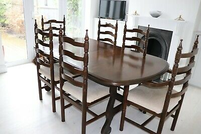 Dining Table (extending) And 6 Chairs - Younger Toledo • 150£