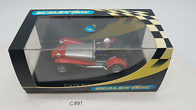 £46.98 • Buy Scalextric C2271 1:32 Caterham 7 Road Trim Red And Silver Slot Car TOP (C891)