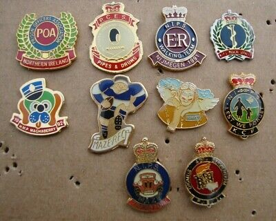 Various HMP NORTHERN IRELAND PRISON SERVICE Tie Tac Pin Badges  • 3.99£