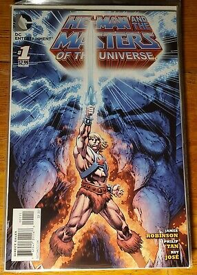 $3 • Buy He-Man And The Masters Of The Universe #1 2012 DC Comics Nm