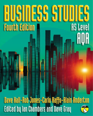 Business Studies Fouth Edition For AQA AS Level By Dave Hall And Rob Jones  • 18.95£