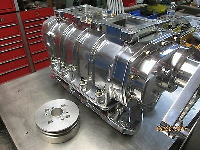 AU5154.17 • Buy New Complete Blower Kit 6-71 Show Polished 351 Cleveland Ford 8-71 Supercharger
