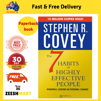 AU25.20 • Buy The 7 Habits Of Highly Effective People - By Stephen R. Covey - Paperback Book