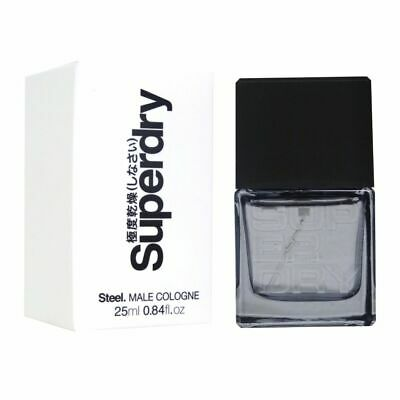 Superdry Steel Men Cologne Spray 25ml • 11.84£