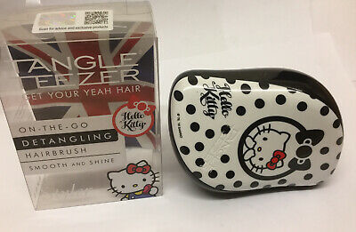 Tangle Teezer Compact Styler, Hello Kitty Black/White🎄🎁🎄 • 9.99£
