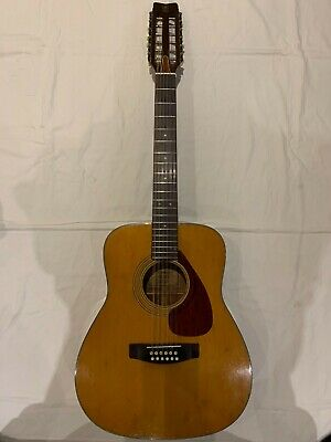 Vintage Yamaha Fg-260 12 String Guitar Fully Refurb Taiwan Mid 1970's Well Used • 299£