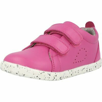 Bobux I-Walk Grass Court Raspberry Premium Leather Infant Shoes • 42.84£