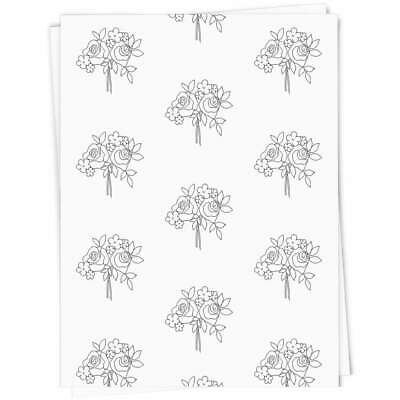 'Rose Bouquet' Gift Wrap / Wrapping Paper (GI019413) • 4.99£