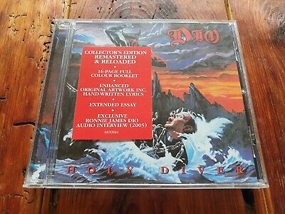 Dio Holy Diver CD Collector's Edition • 6.99£