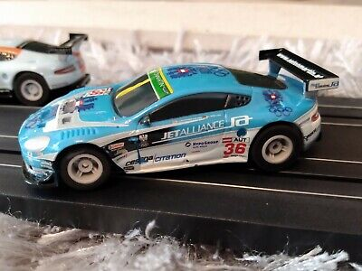 MICRO Scalextric Aston Martin DBR9 EXCELLENT Condition. New Braids. TESTED • 3.40£