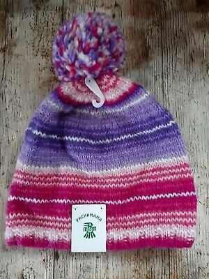 Pachamama Beanie.. Handmade Fairtrade Fleece Lined  • 10£