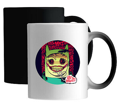 £14.49 • Buy Adventure Time Finn Joker Style Why So Serious Color Changing Magic Mug