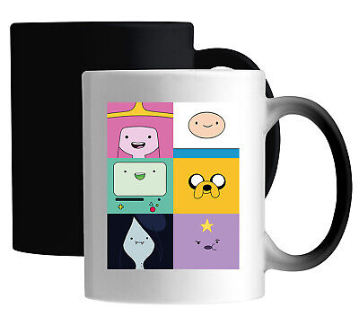£14.49 • Buy Adventure Time Squared Characters Color Changing Magic Mug
