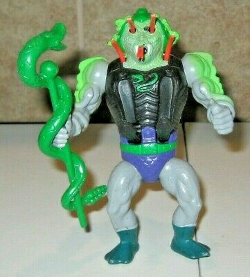 $50 • Buy Snake Face W Weapon Masters Of The Universe He-Man Figure Lot MOTU Mattel Rare
