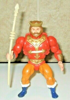 $37 • Buy King Randor W Weapon Masters Of The Universe He-Man Figure Lot MOTU Mattel Rare
