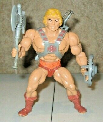 $86 • Buy He-Man Complete Masters Of The Universe He-Man Figure Lot MOTU Mattel Rare