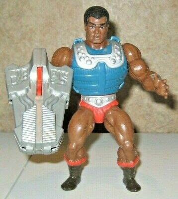 $46 • Buy Clamp Champ Complete Masters Of The Universe He-Man Figure Lot MOTU Mattel Rare