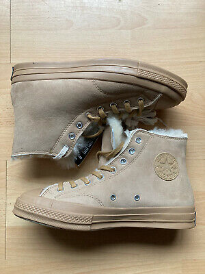 £44.99 • Buy Converse All Star Chuck 70 Shearling Iced Coffee Mens UK Size 9.5