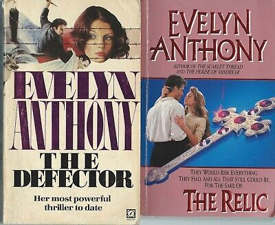 The Relic By Evelyn Anthony Plus 3 Others  Paperbacks • 9£