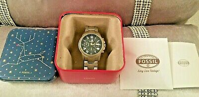 View Details Fossil Mens Wrist Watch  Chronograph WATCH • 32.99£