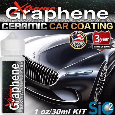 $23.95 • Buy Ceramic Car Coating 9h Carbon Graphene Si02 Protection Paint Sealant Gloss Kit