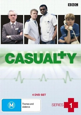 £20.50 • Buy Casualty - Series 1 (DVD, 2008, 4-Disc Set) Very Good Condition Dvd Region 4
