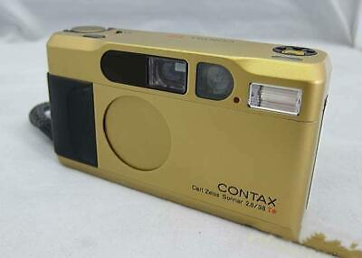 $ CDN2176.71 • Buy CONTAX T2 Gold Film Camera 35mm Tested Working Ex++ Rare