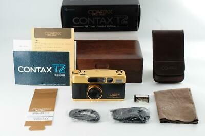 $ CDN3919.86 • Buy CONTAX T2 Gold Film Camera 60th Limited Maintained Tested Working Ex Rare