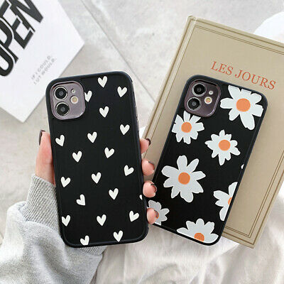 AU5.12 • Buy For IPhone 12 11 Pro Max XS X XR 8 7 Cute Matte Silicone Black Back Case Cover