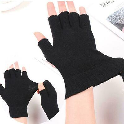 $2.45 • Buy Mens Thermal Thinsulate Knitted Fingerless Gloves Winter Mitts Warm Cold N5z9