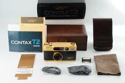 $ CDN4054.21 • Buy CONTAX T2 Gold Film Camera 60th Limited Maintained Tested Working Ex Rare